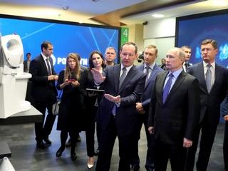 Владимир Путин ознакомился с инновациями в электроэнергетике в рамках посещения офиса «Россетей»