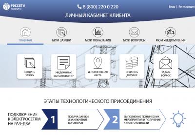С конца марта онлайн-сервисами «Россети Ленэнерго» воспользовались почти 50 тысяч заявителей